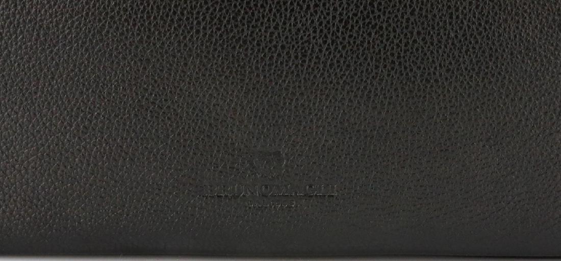 Bruno Magli Black Calf Leather Maggie Clutch - 4