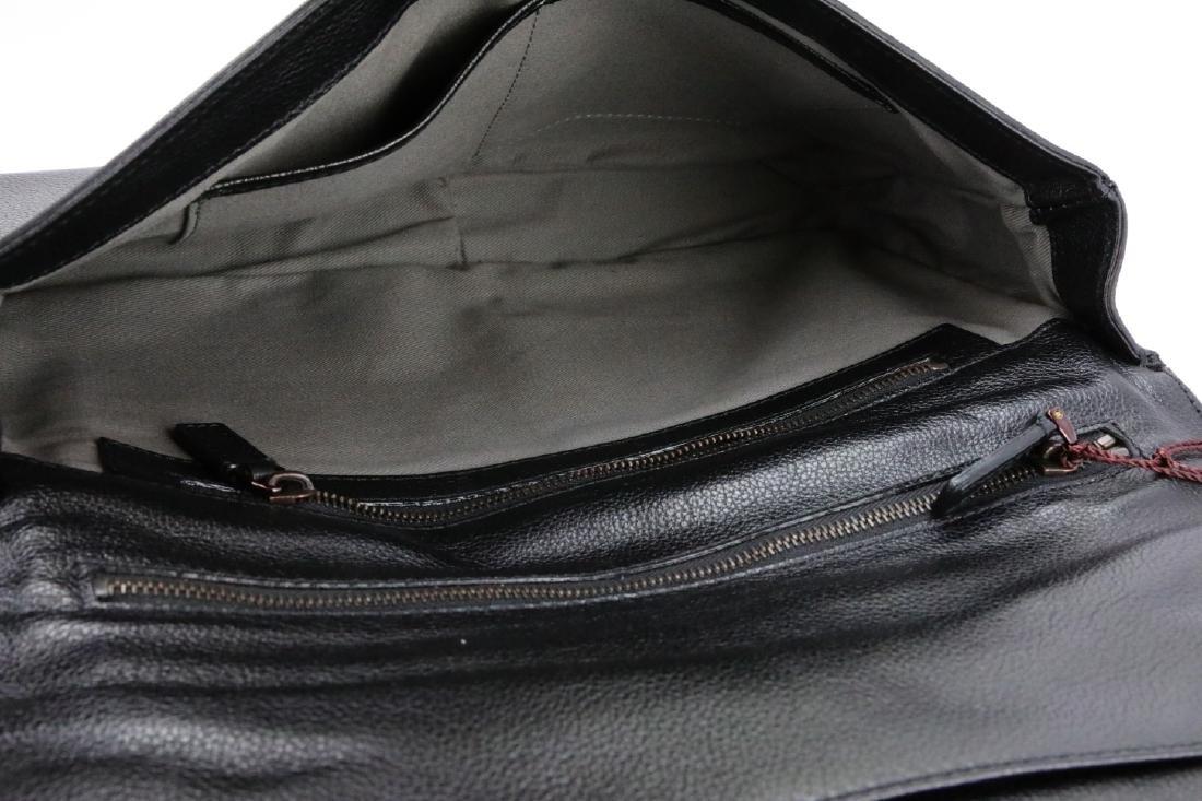 Bruno Magli Black Calf Leather Maggie Clutch - 5