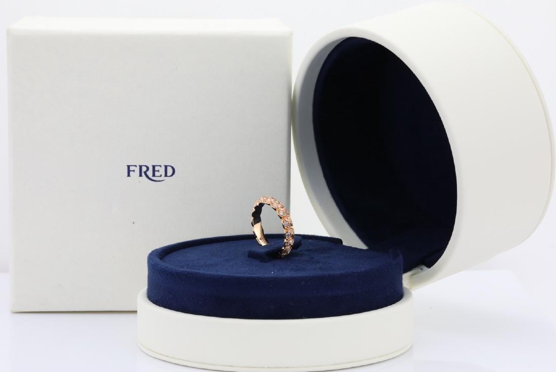 "Fred Paris ""Celebration"" Diamond & 18K Band"