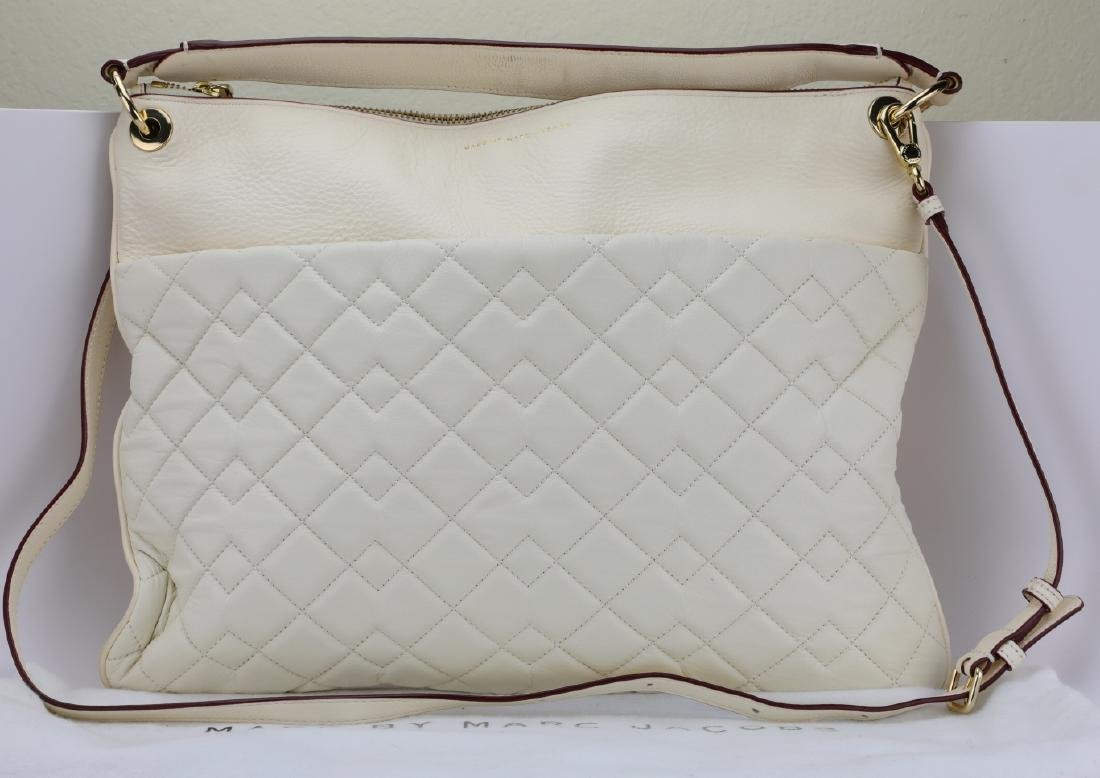 Marc By Marc Jacobs Pebbled & Quilted Leather Bag