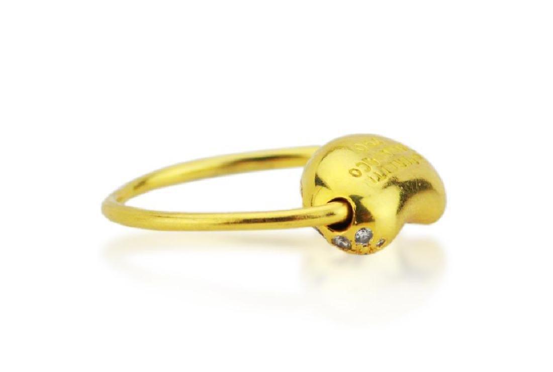 Tiffany & Co. Elsa Peretti 18K Bean Wire Ring - 3