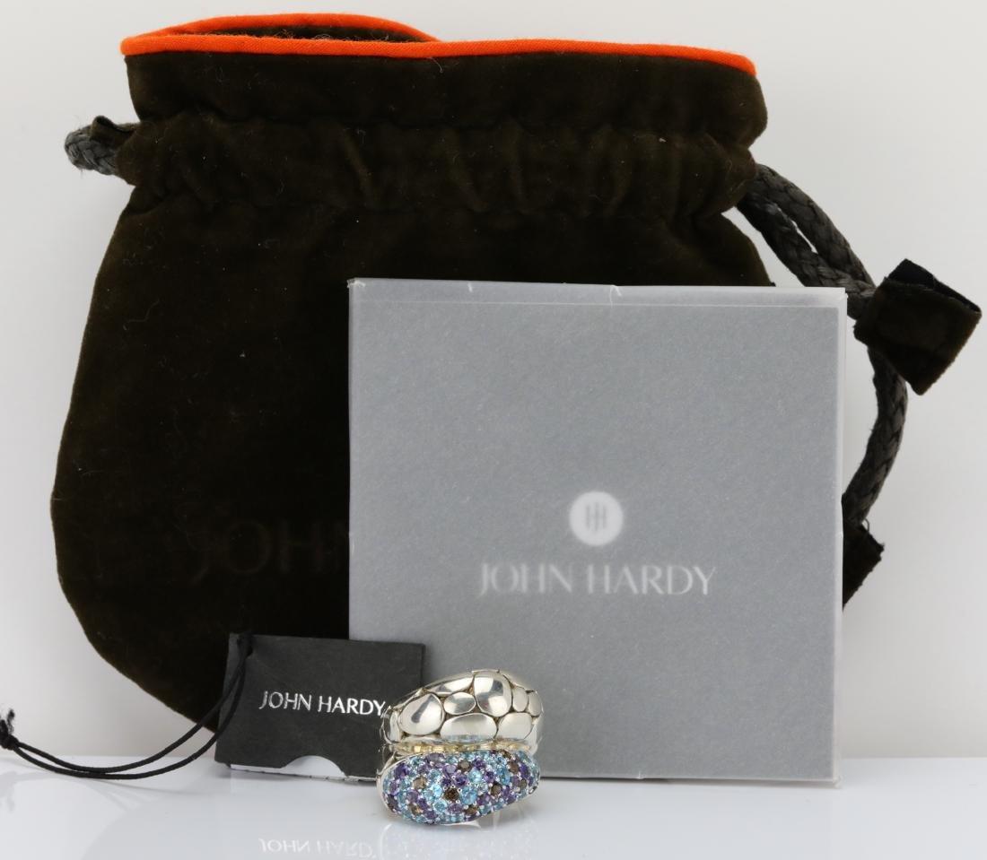 John Hardy Kali Arus 3.30ctw Gemstone Pebble Ring