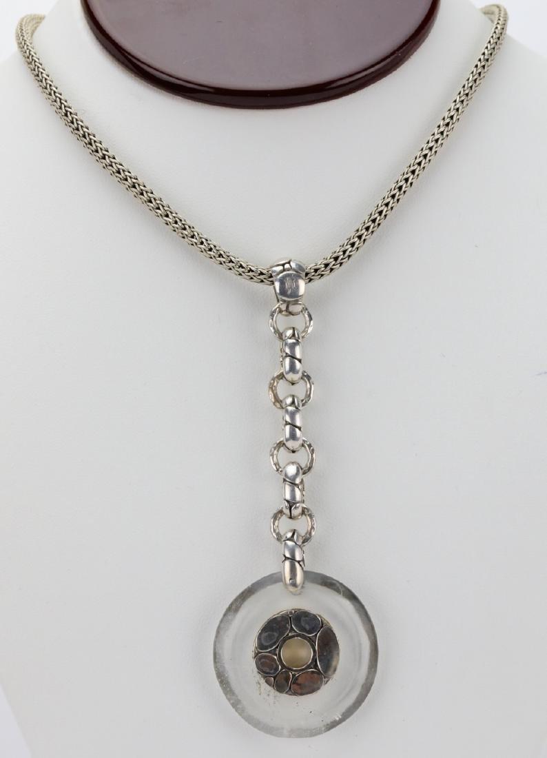 John Hardy Kali Sterling Silver Pebble Necklace