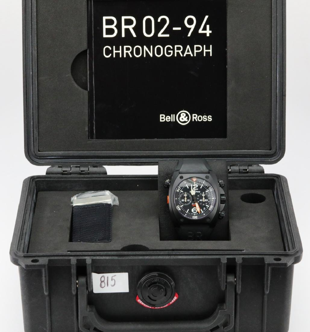 Bell & Ross Marine Chronograph Stainless Steel Watch