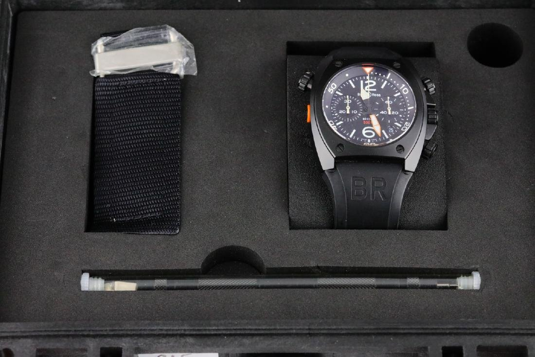 Bell & Ross Marine Chronograph Stainless Steel Watch - 2