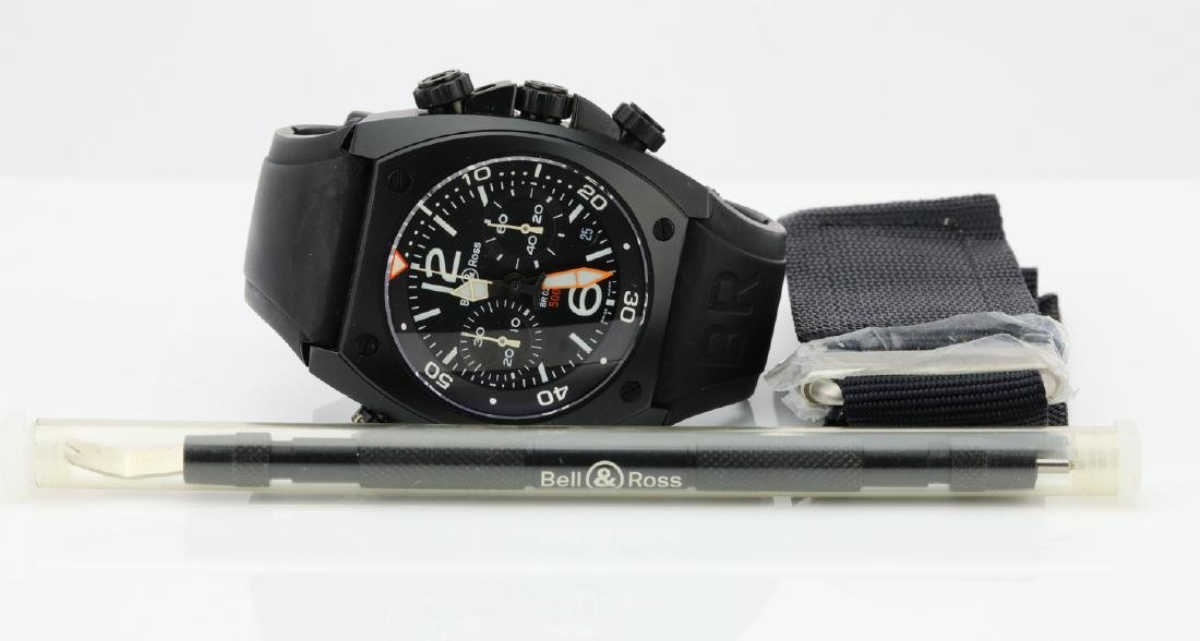 Bell & Ross Marine Chronograph Stainless Steel Watch - 3