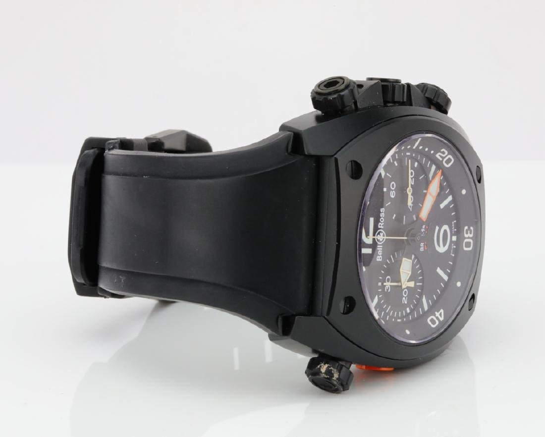 Bell & Ross Marine Chronograph Stainless Steel Watch - 7