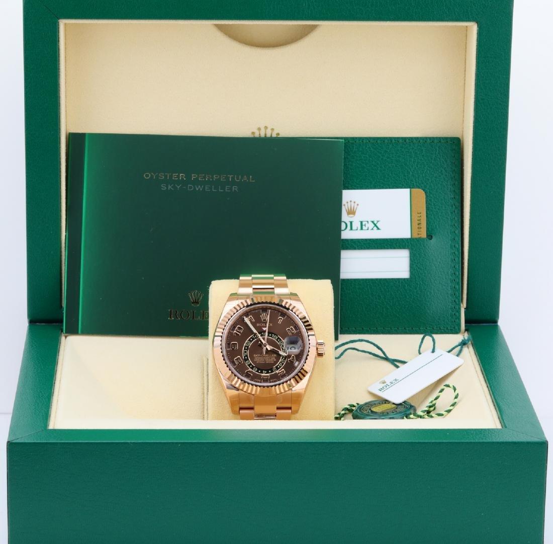 Rolex Oyster Perpetual Sky-Dweller 18K Watch