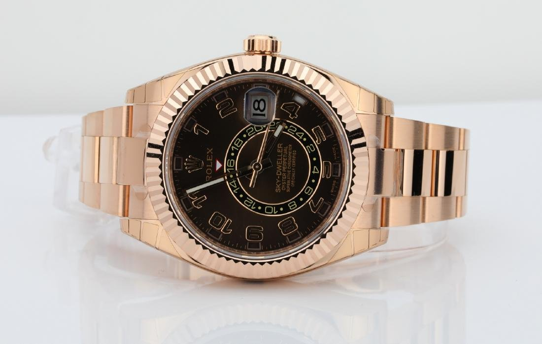 Rolex Oyster Perpetual Sky-Dweller 18K Watch - 3