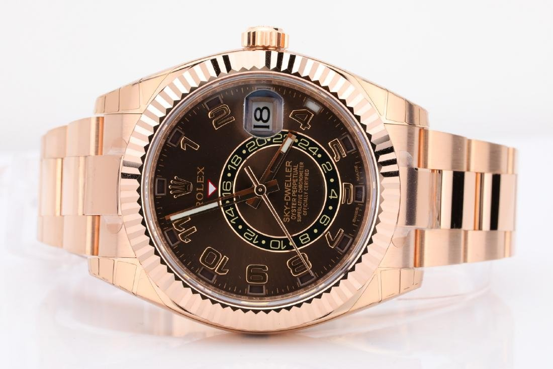 Rolex Oyster Perpetual Sky-Dweller 18K Watch - 4