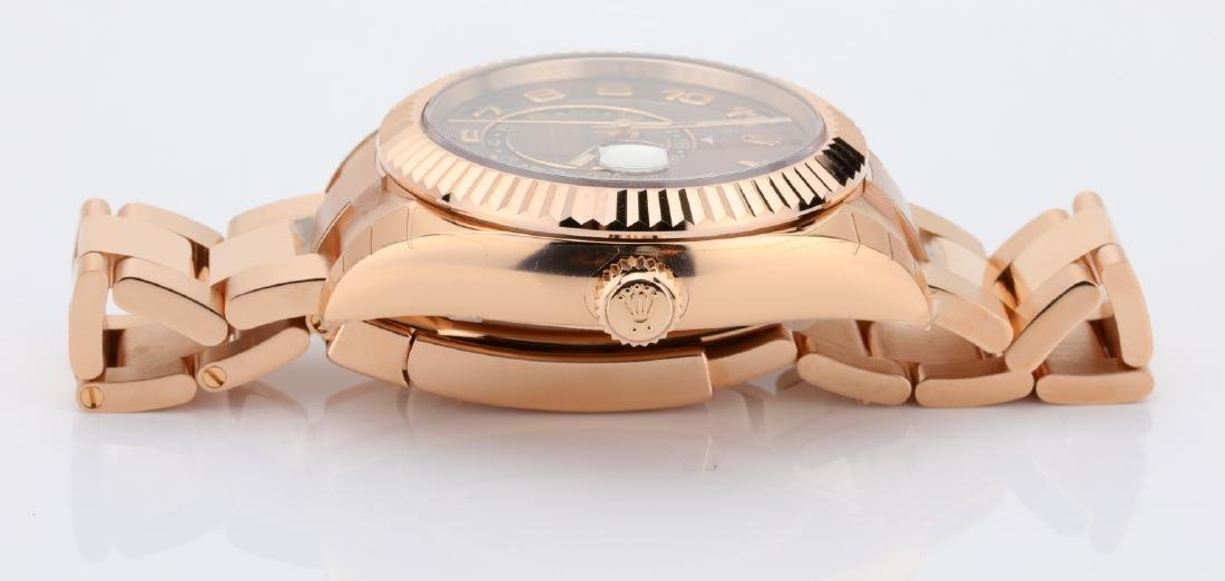 Rolex Oyster Perpetual Sky-Dweller 18K Watch - 9