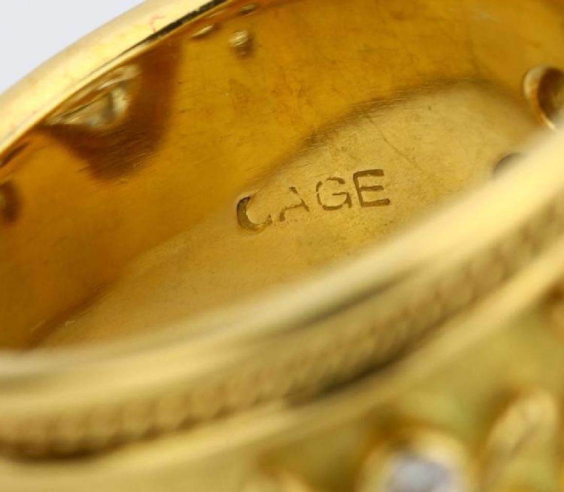 Elizabeth Gage 4.01ct GIA SI2/I Diamond 18K Ring - 10