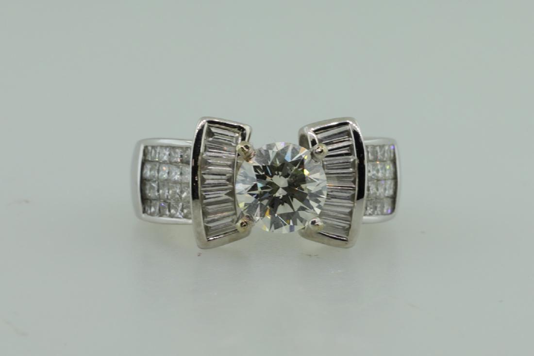 3.20ctw SI1-SI2/G-H Diamond & 14K Ring