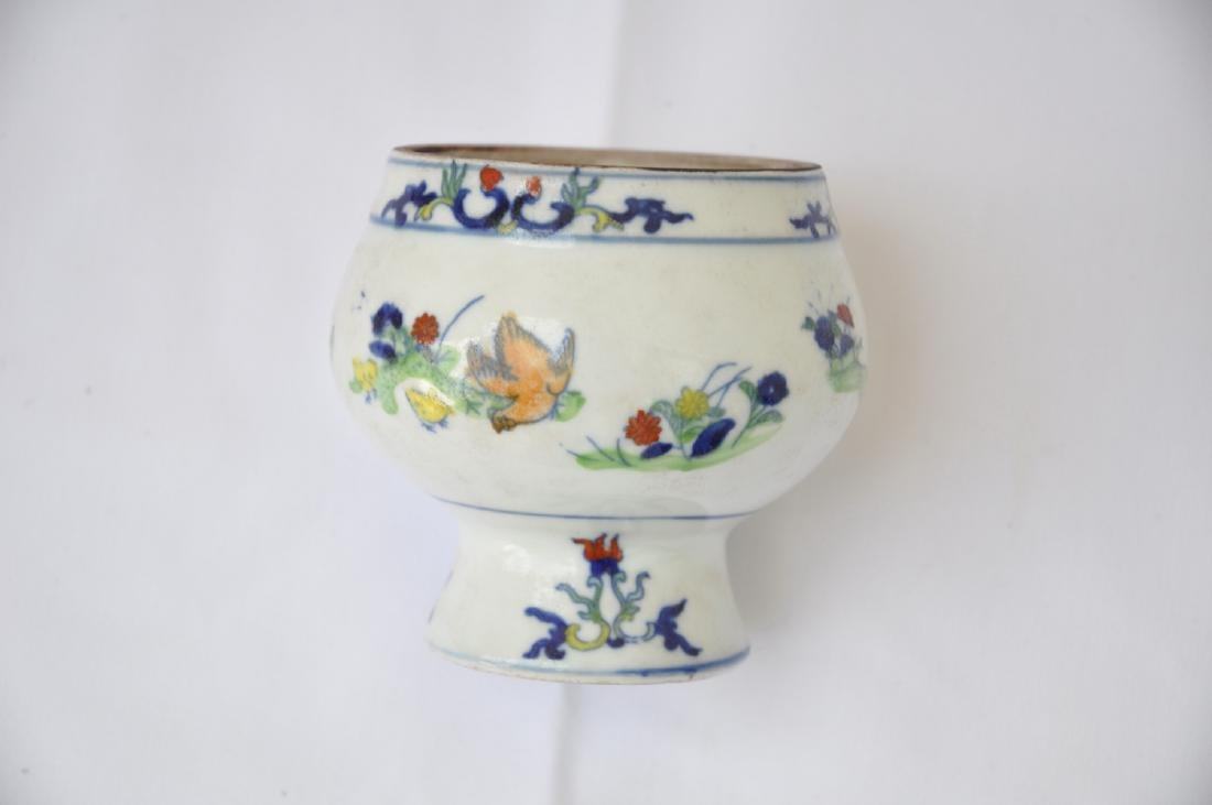 Vietnamese Qing Dynasty Period Wucai Chicken Bowl - 5