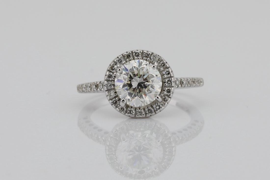 1.85ctw SI1-SI2/G-H Diamond & 14K White Gold Ring