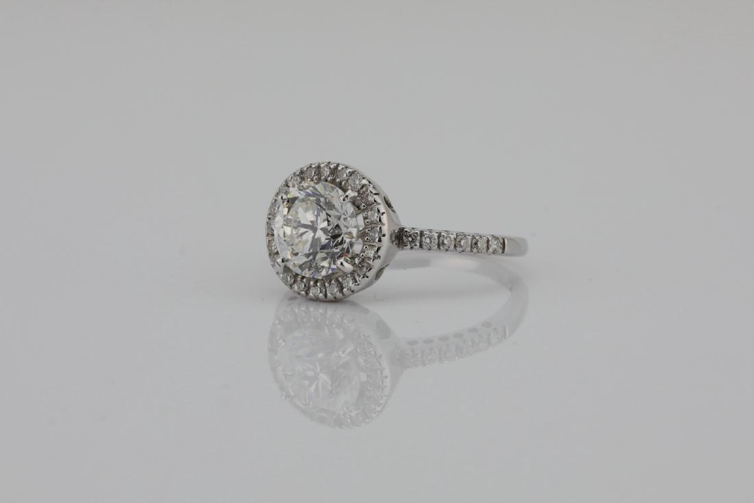 1.85ctw SI1-SI2/G-H Diamond & 14K White Gold Ring - 2