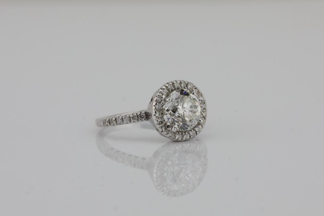 1.85ctw SI1-SI2/G-H Diamond & 14K White Gold Ring - 3