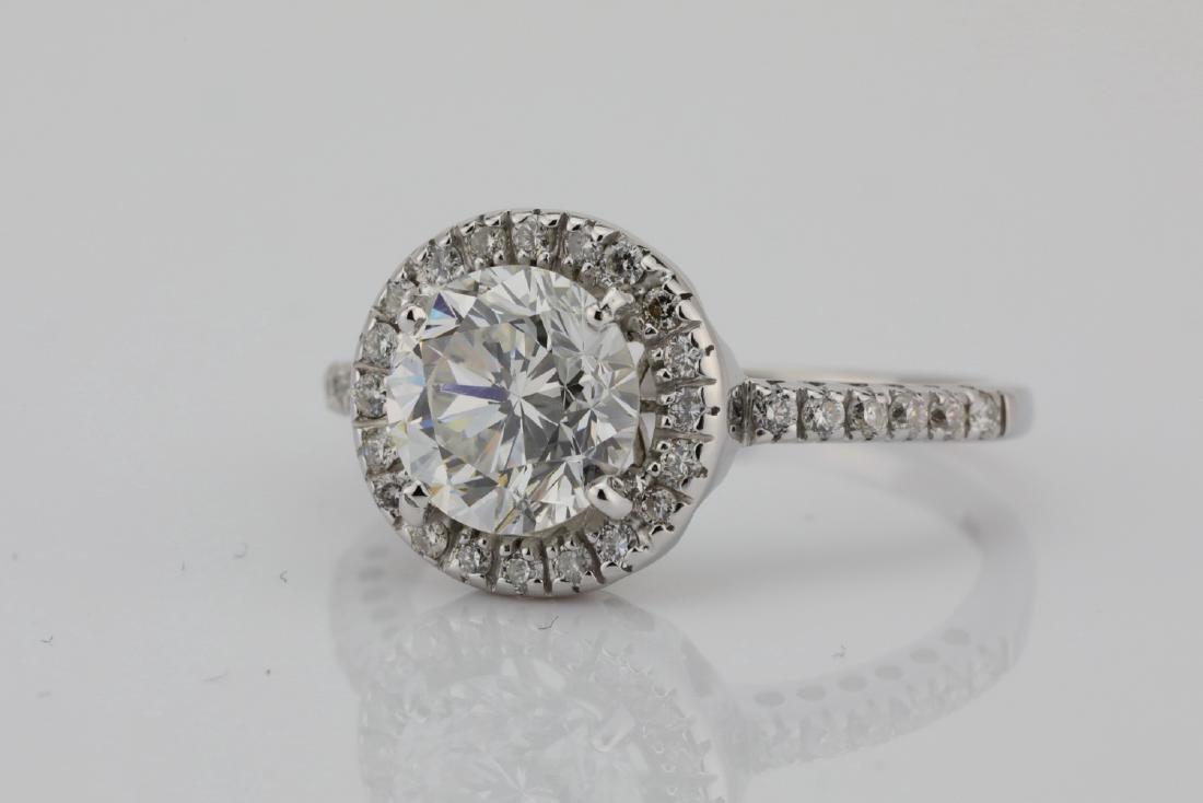 1.85ctw SI1-SI2/G-H Diamond & 14K White Gold Ring - 4