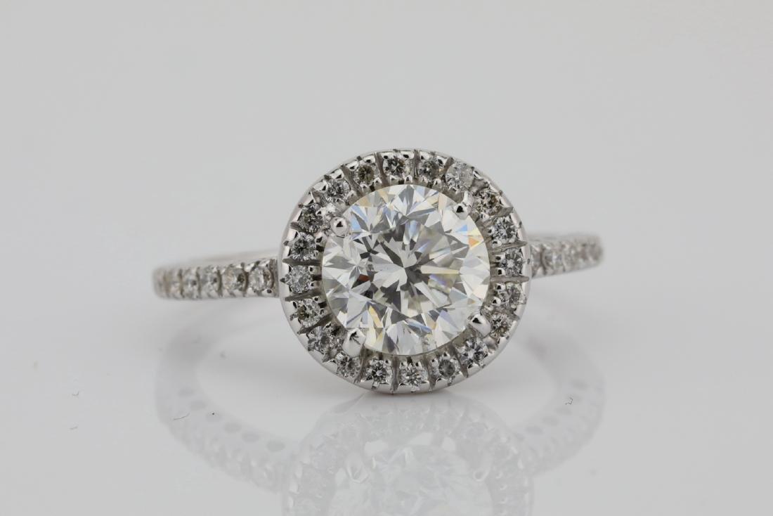 1.85ctw SI1-SI2/G-H Diamond & 14K White Gold Ring - 5