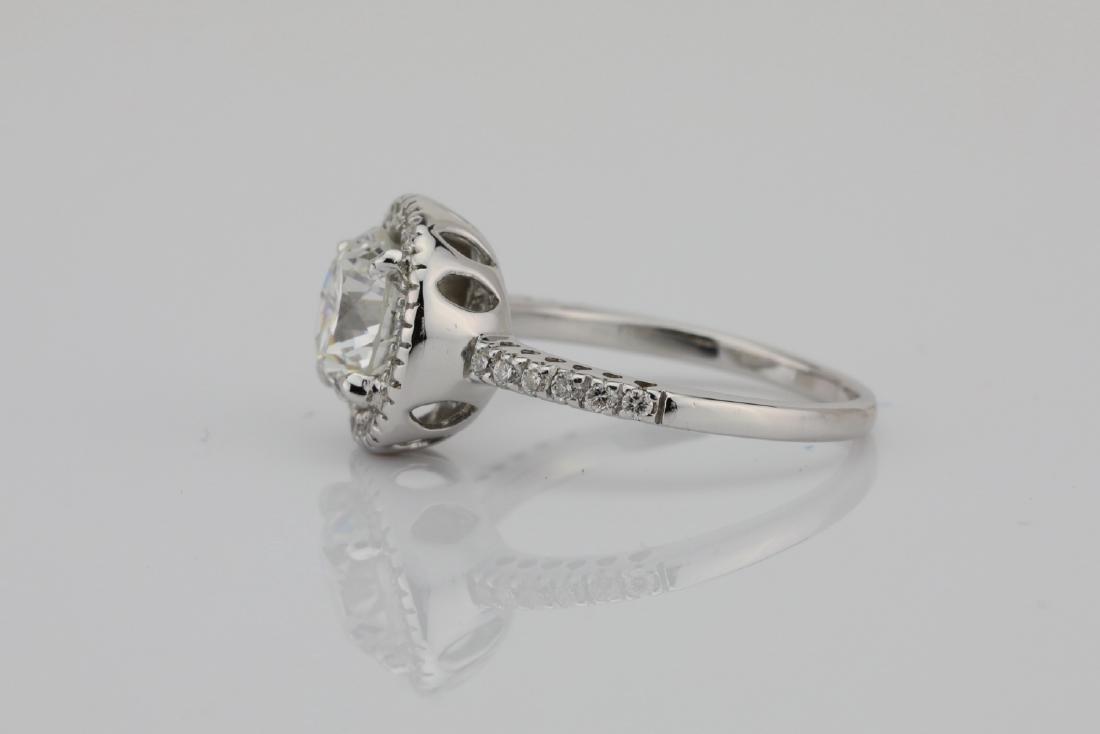 1.85ctw SI1-SI2/G-H Diamond & 14K White Gold Ring - 6