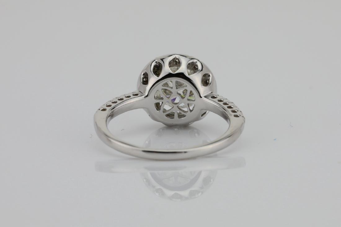 1.85ctw SI1-SI2/G-H Diamond & 14K White Gold Ring - 8