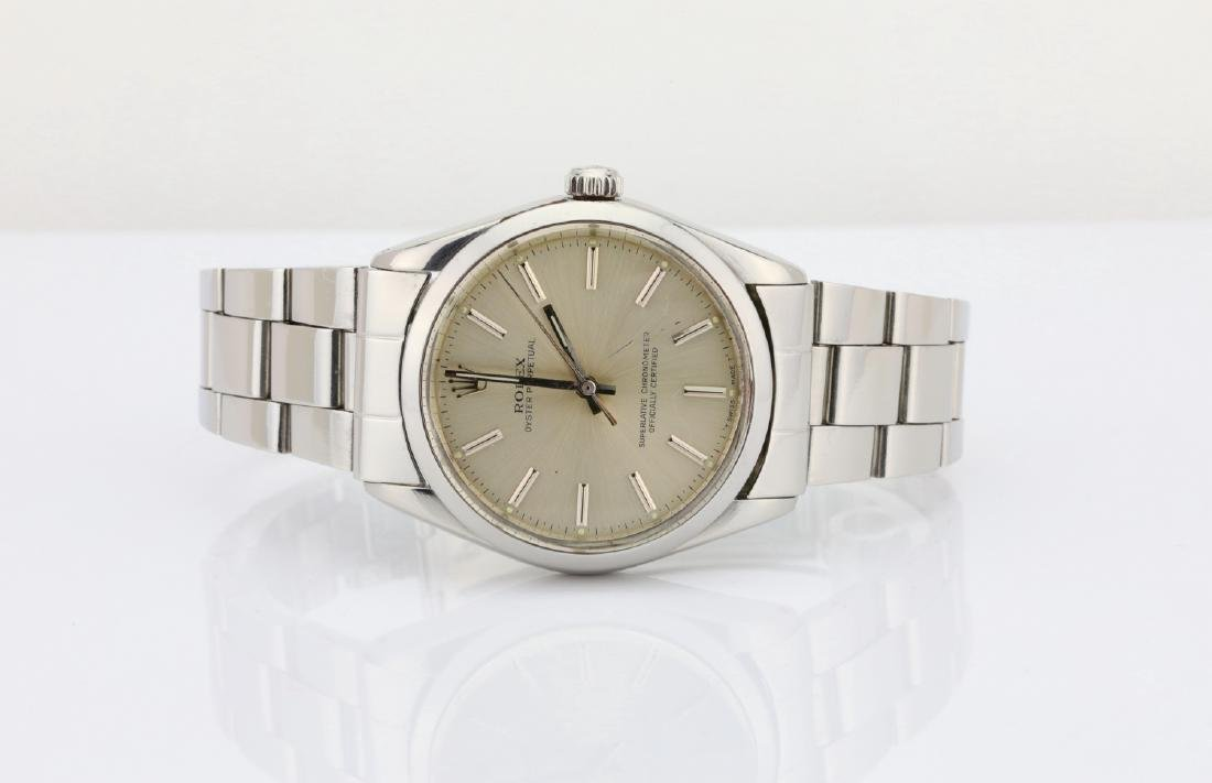 Rolex 1988 Oyster Perpetual Stainless Steel Watch