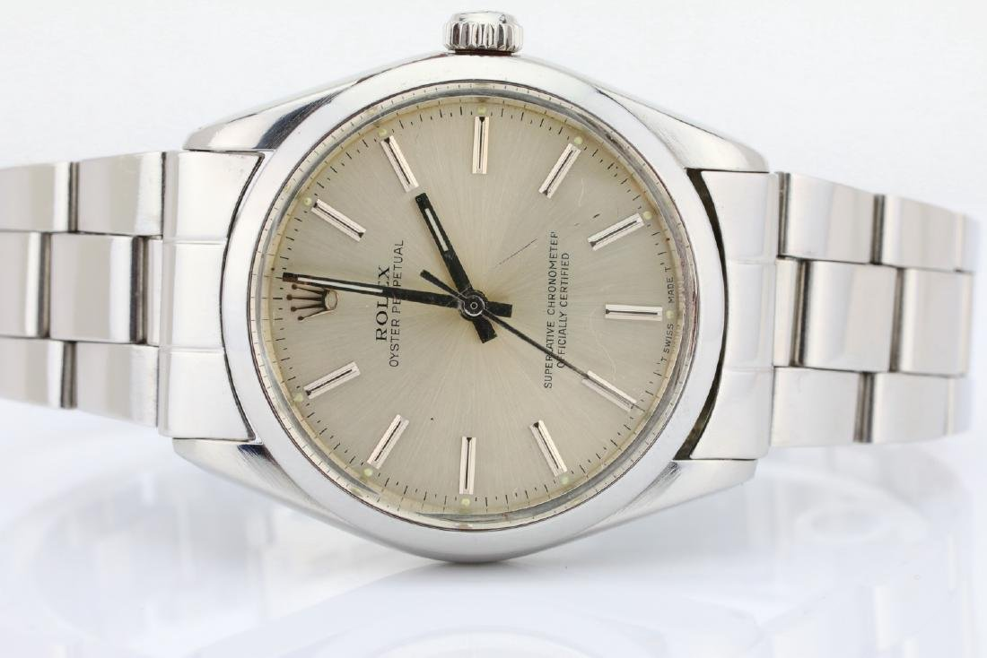 Rolex 1988 Oyster Perpetual Stainless Steel Watch - 2