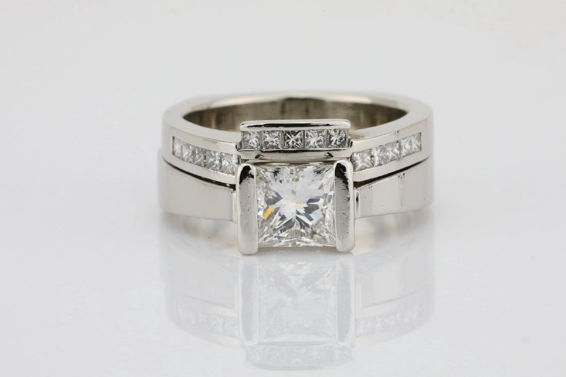 1.50ctw VS1-VS2/G-H Diamond & Solid Platinum Ring