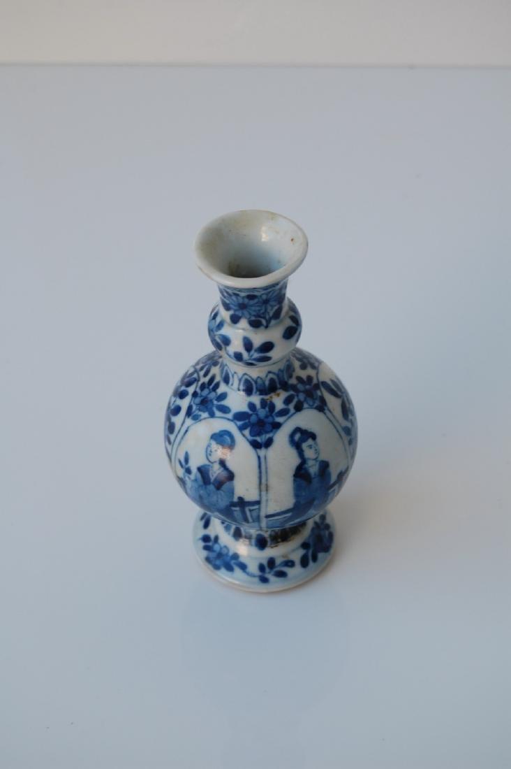 Vietnamese Qing Dynasty Blue Underglazed Vase - 3