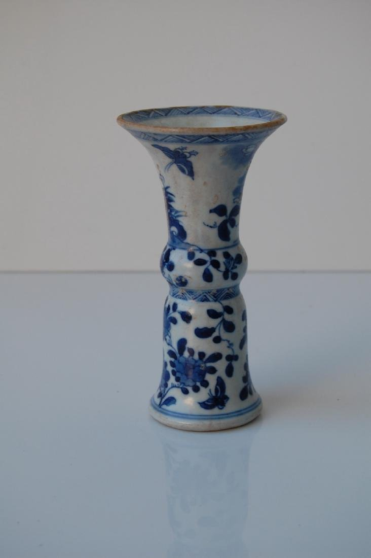 Vietnamese Qing Dynasty Period Gu Form Vase - 3