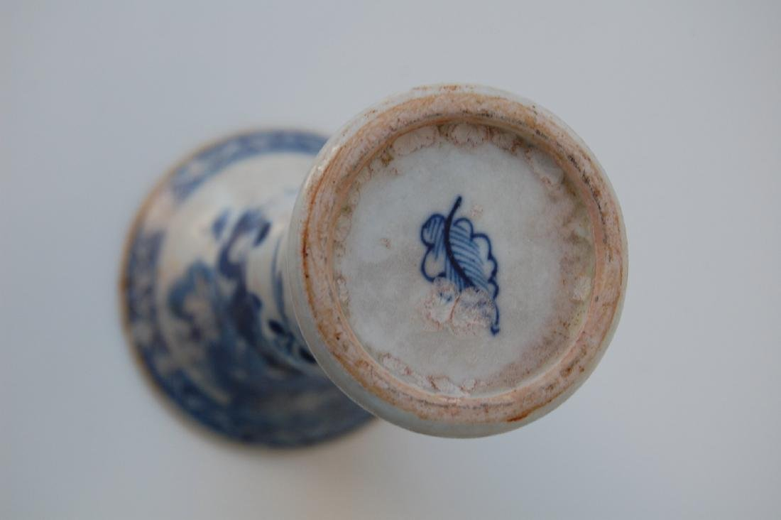 Vietnamese Qing Dynasty Period Gu Form Vase - 4