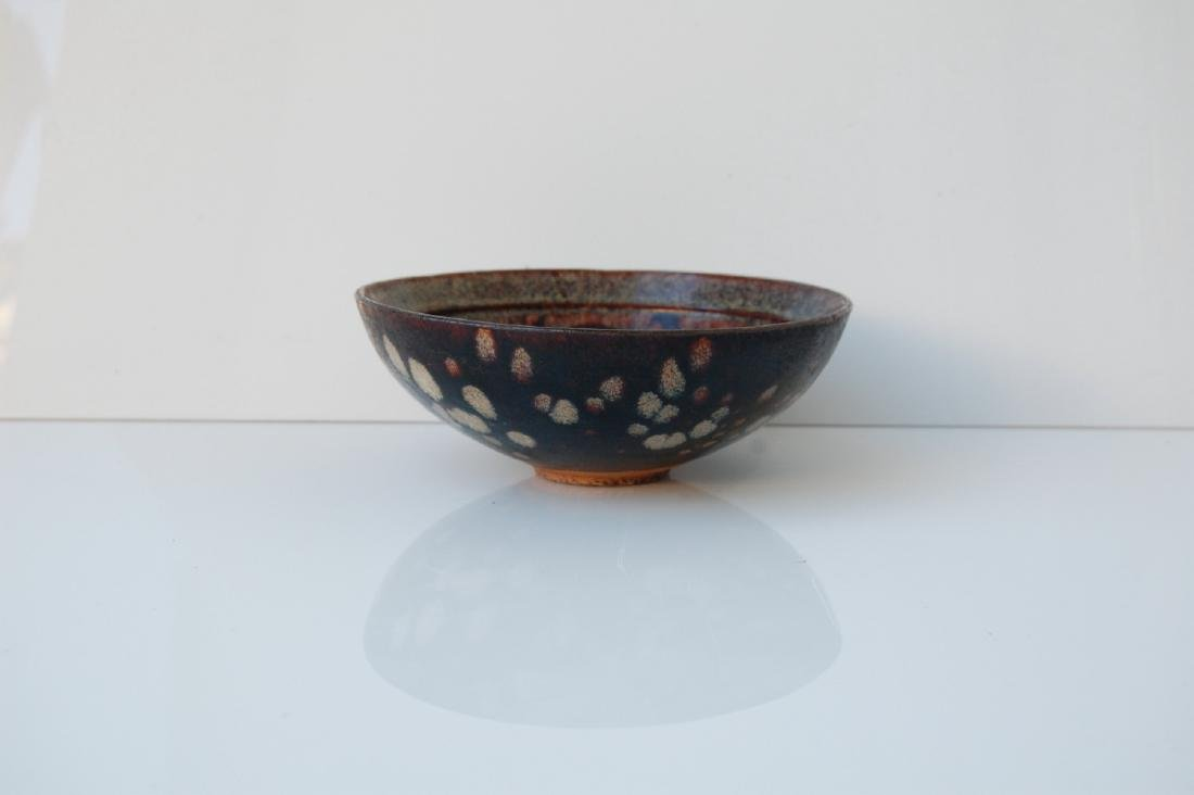 Vietnamese 17th C. Black Glazed Ceramic Bowl - 2