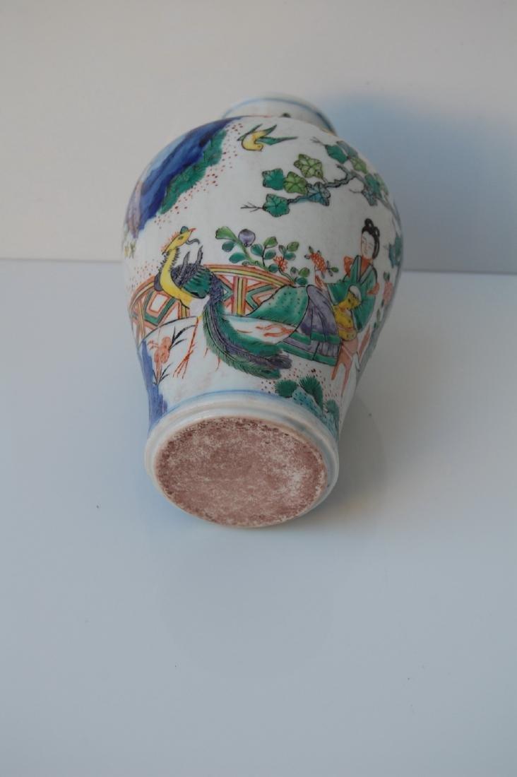 Vietnamese Ming Dynasty Doucai Glazed Vase - 4
