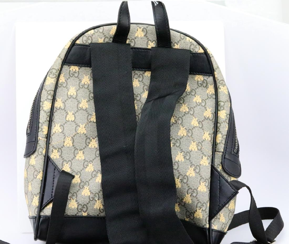 Gucci GG Supreme Bees Backpack (Back Ordered) - 4