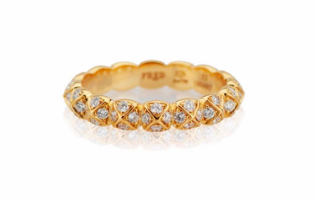 "Fred Paris ""Celebration"" Diamond & 18K Band"