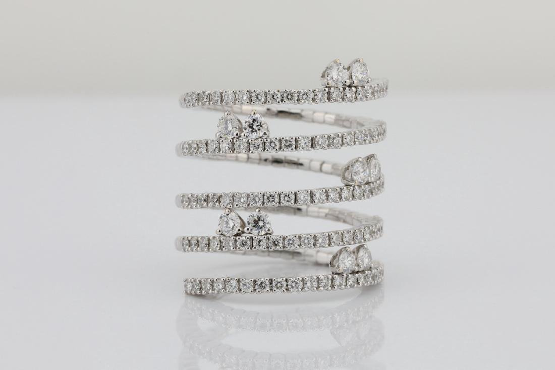 2.70ctw VS1-VS2/G-H Diamond & 18K Flexi-Ring