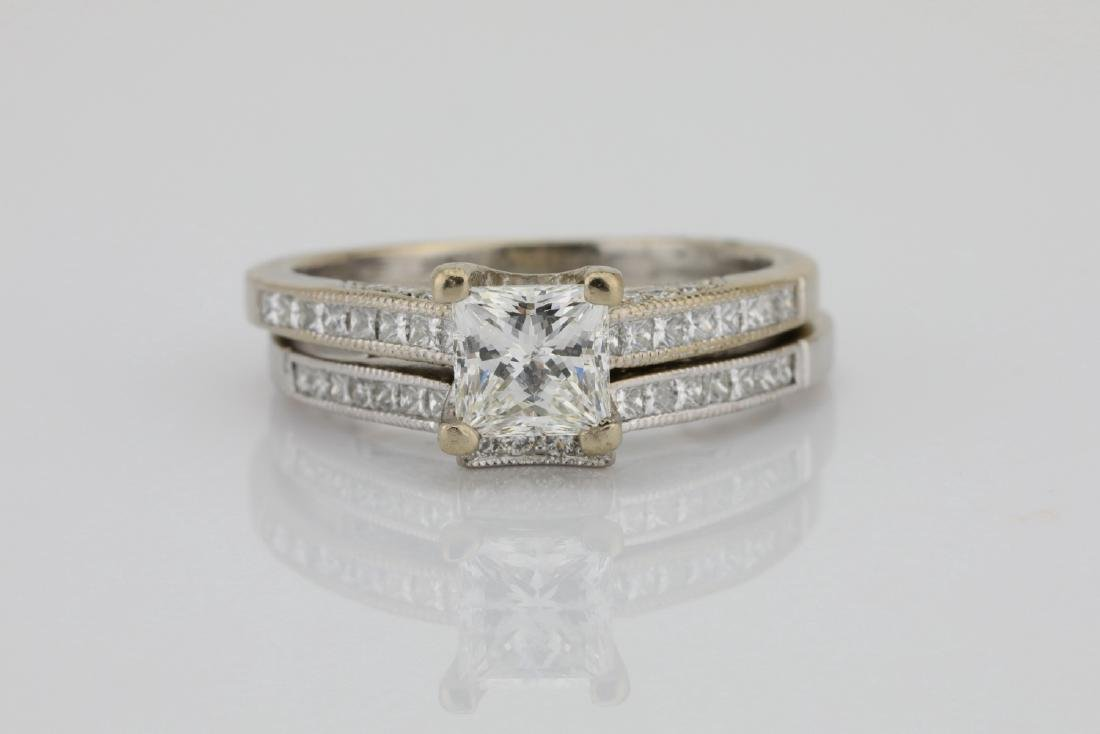 Tacori 1.60ctw VS2-SI1/G-H Diamond 18K Ring/Band