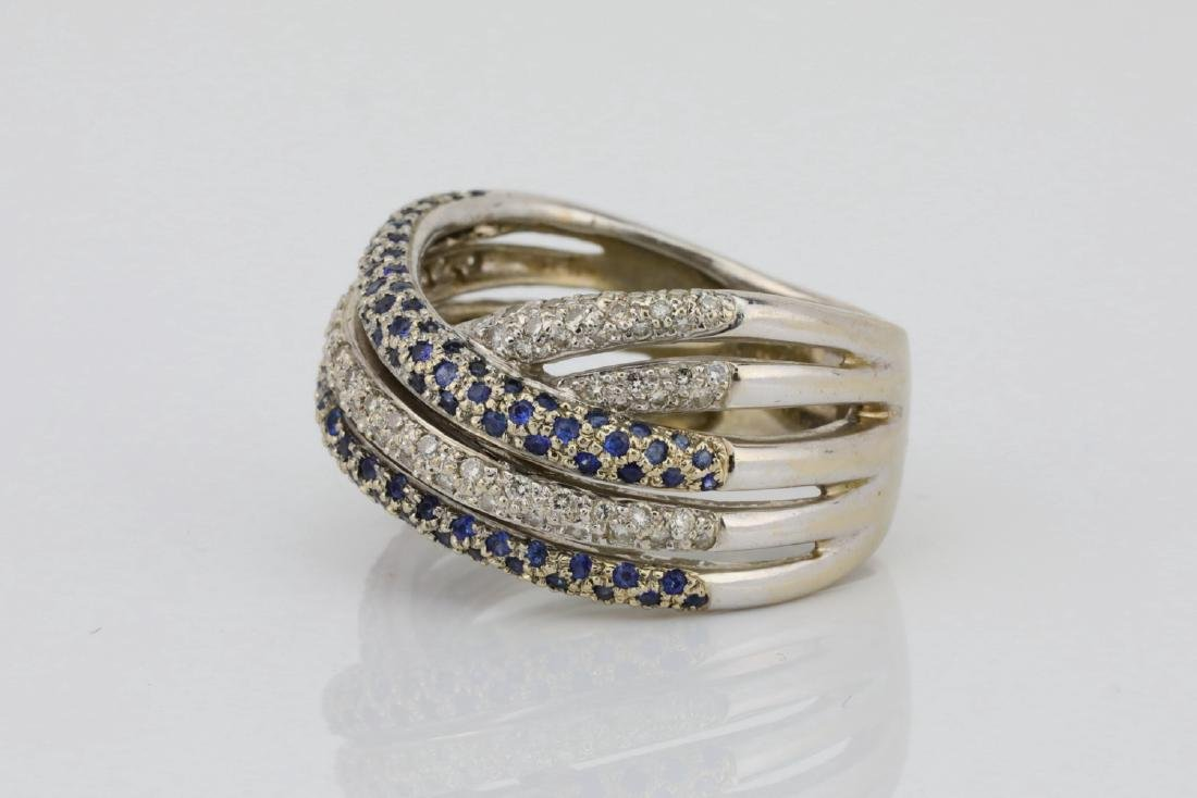 1.25ctw SI1-SI2/G-H Diamond 14K 10.5mm Wide Band - 2