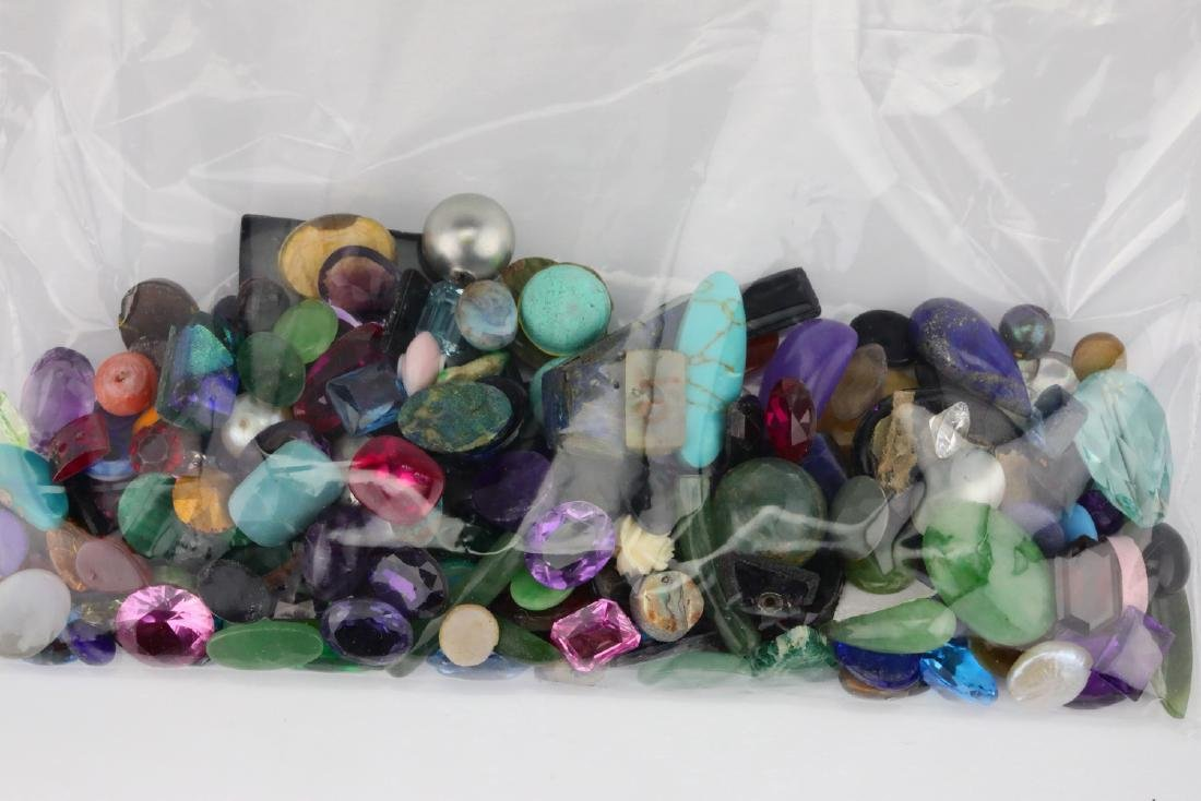 Bag of Misc. Unsearched Loose Gemstones & More - 3