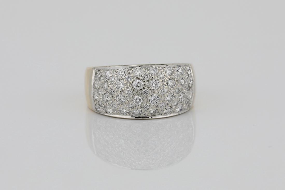1.15ctw Blue Sapphire & Diamond 14K Ring