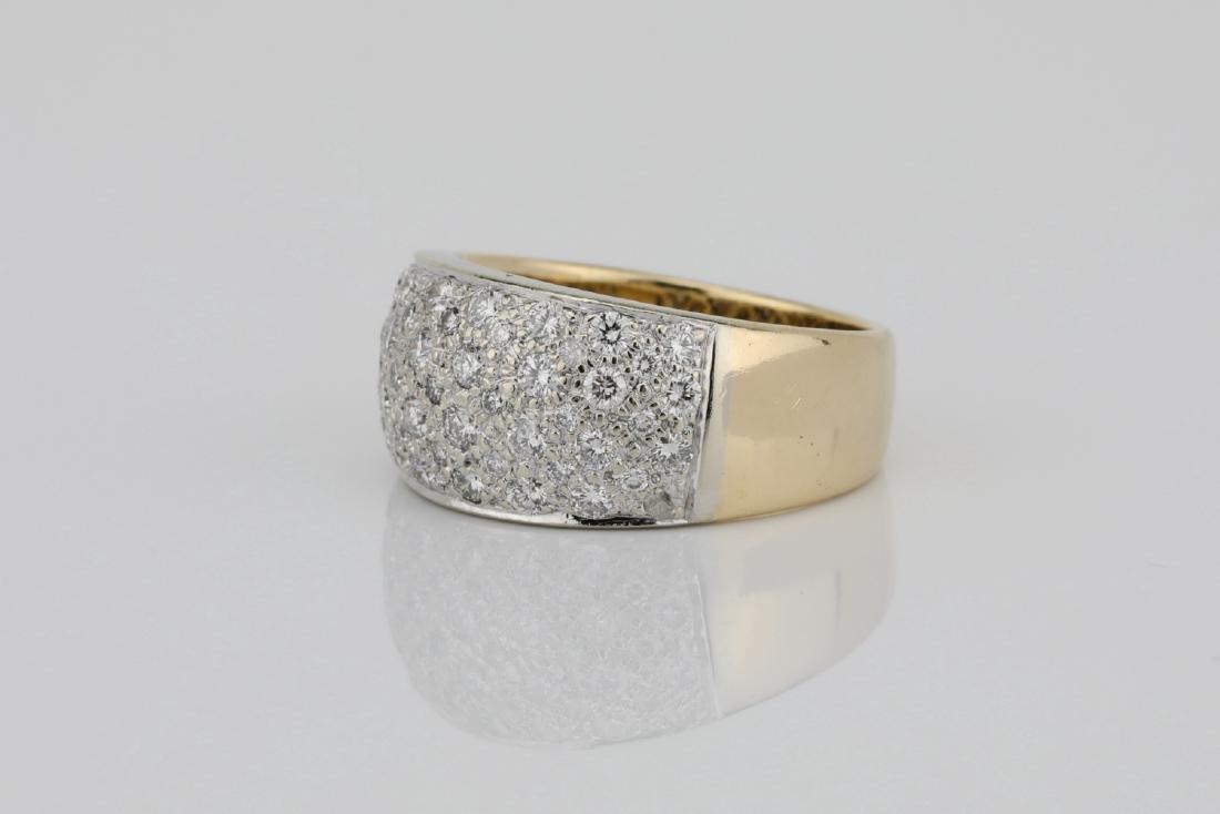 1.15ctw Blue Sapphire & Diamond 14K Ring - 2