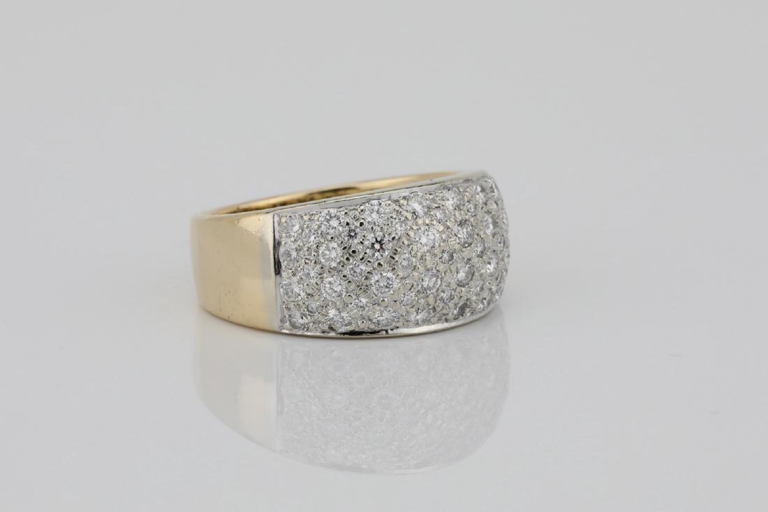 1.15ctw Blue Sapphire & Diamond 14K Ring - 3