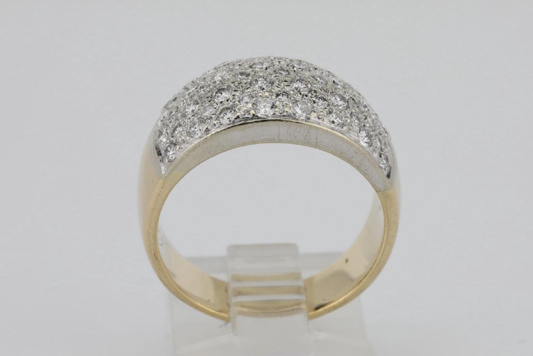1.15ctw Blue Sapphire & Diamond 14K Ring - 5