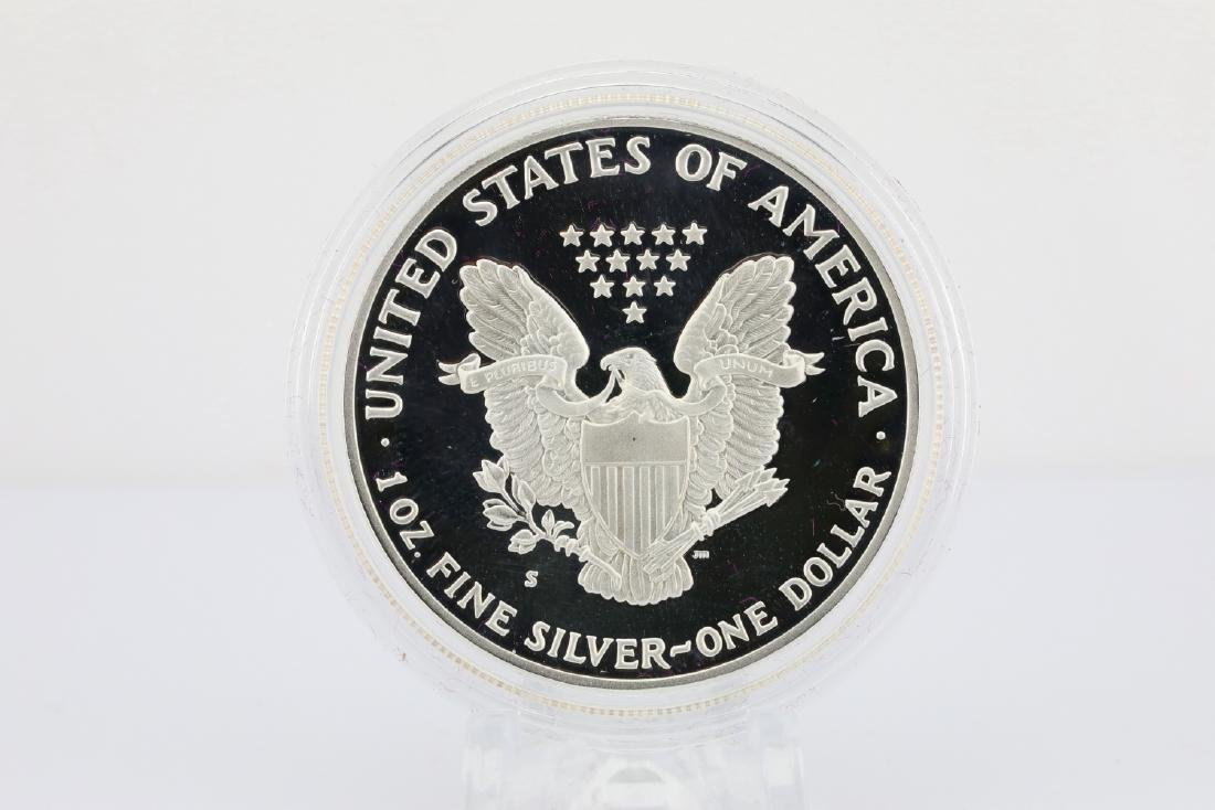 1989-S American Eagle 1 Oz. Proof Silver Dollar - 3