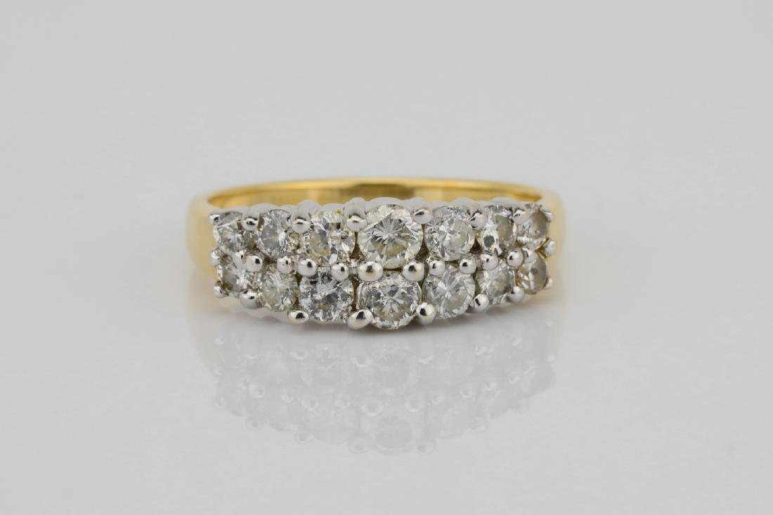 1.25ctw SI1-SI2/G-H Diamond 14K Yellow Gold Ring