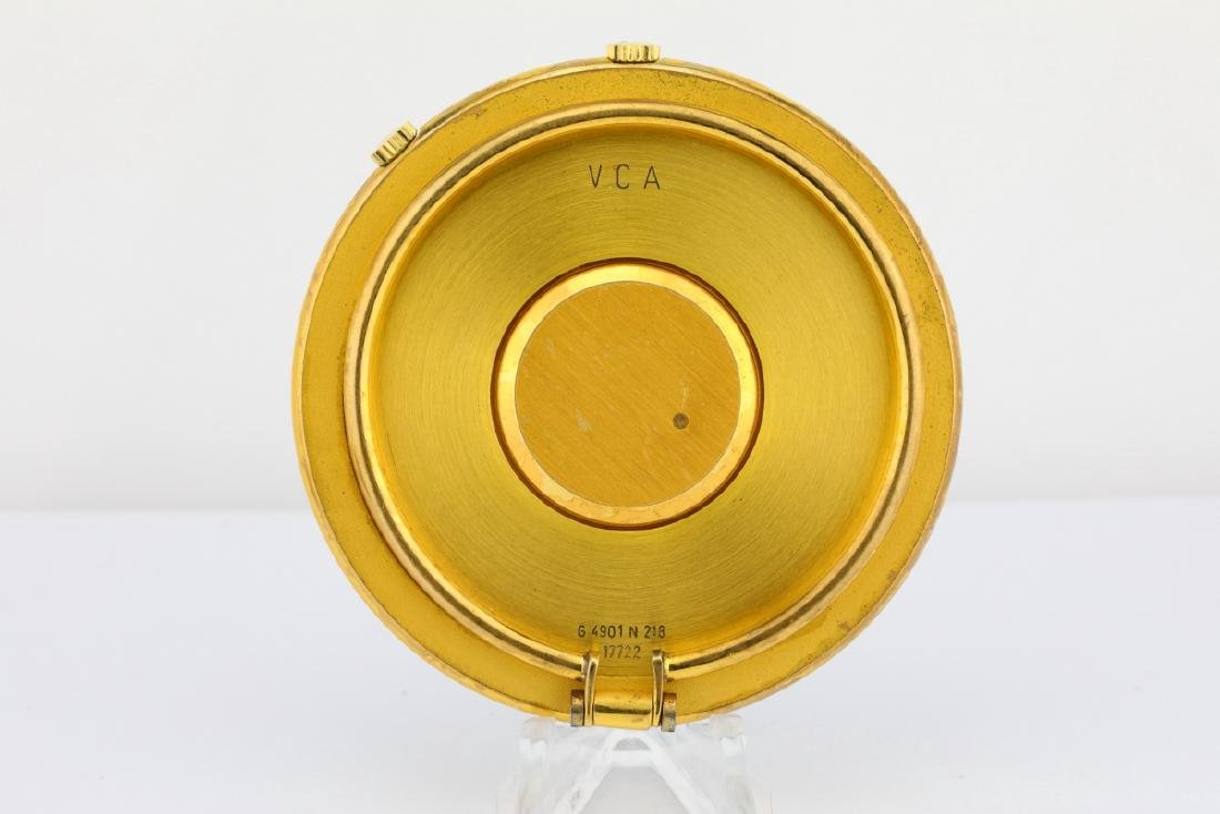 Van Cleef & Arpels Vintage Travel Alarm Clock - 3