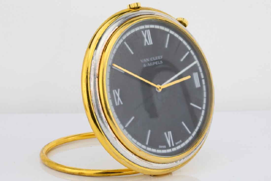Van Cleef & Arpels Vintage Travel Alarm Clock - 7