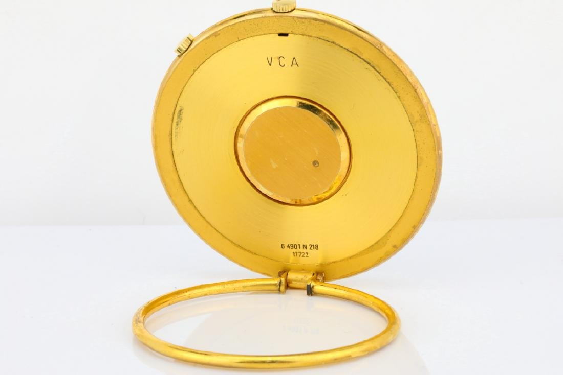 Van Cleef & Arpels Vintage Travel Alarm Clock - 8
