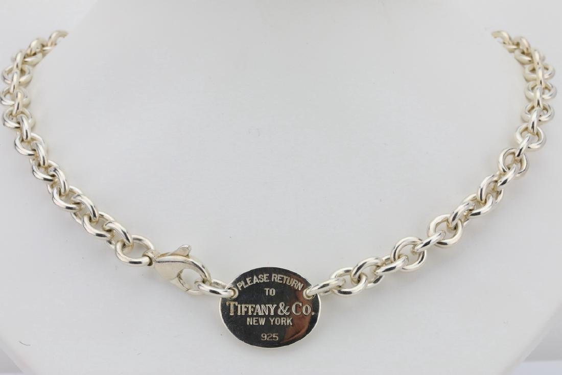 f59c2c7d6 Tiffany & Co. Return to Tiffany Sterling Necklace - Jul 28, 2018 | GWS  Auctions Inc. in CA