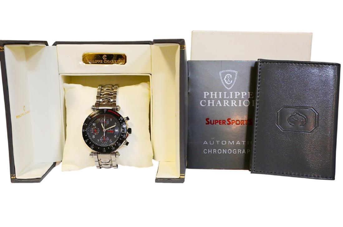 Philippe Charriol Diablo SVR Lamborghini Watch